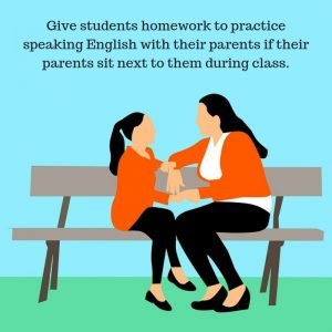Parents and classroom management