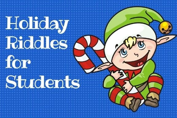 Holiday Riddles for Students Elf