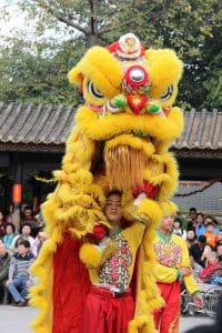 Lion Dance Chinese Holidays
