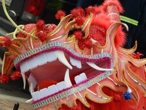 Chinese New Year History Dragon