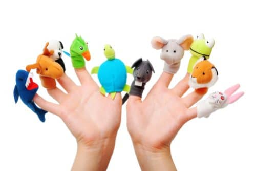 Visual Learner Puppets