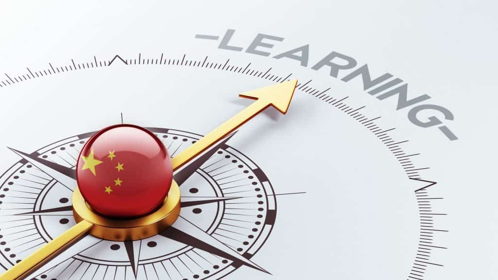 China Learning Concept