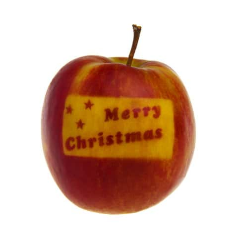 Christmas Red Apple