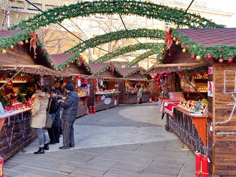 Christmas Market At China Beijing On Dec.17,2015