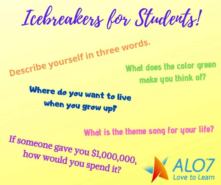 Icebreaker For Students Graphic