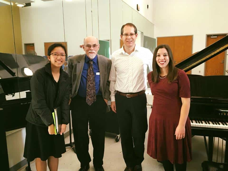 With Piano And Music Theory Teacher